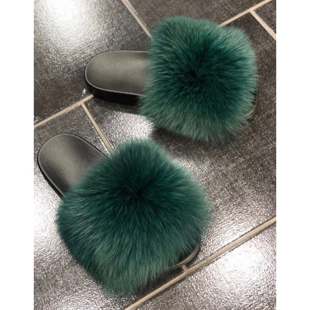 ORIGINAL GENUINE FUR SLIPPERS